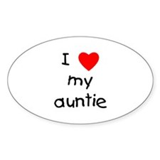 I love my auntie Decal