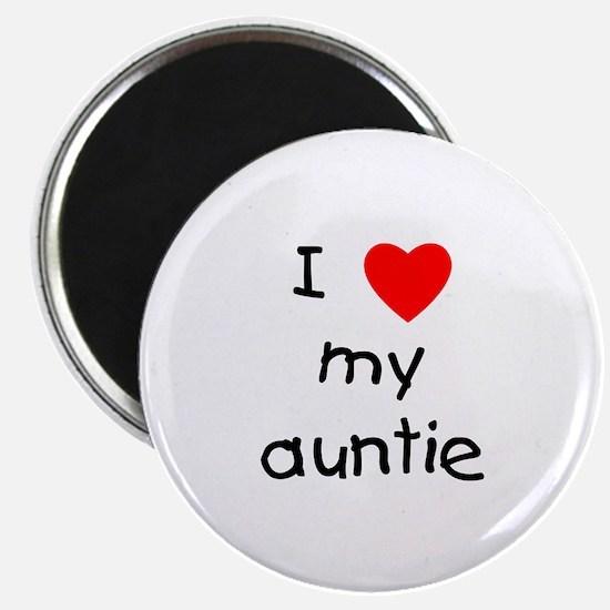 I love my auntie Magnet
