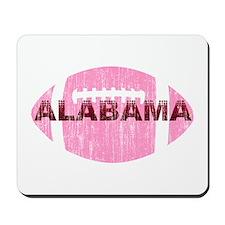 Alabama Football Pink Mousepad