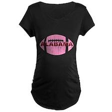 Alabama Football Pink T-Shirt