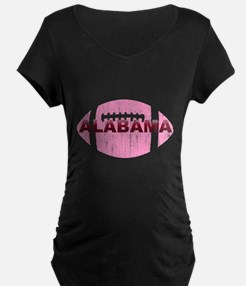 Alabama Football Pink T-Shirt