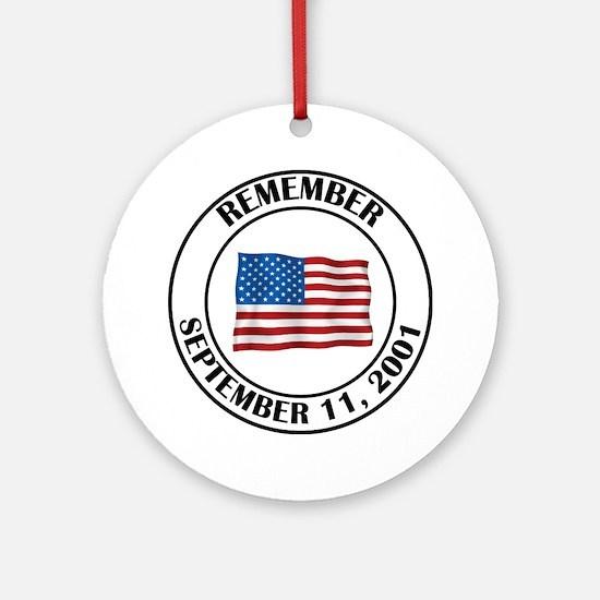 9 11 Ornament (Round)