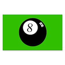 'Eight Ball' Decal