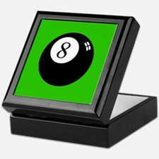 'Eight Ball' Keepsake Box