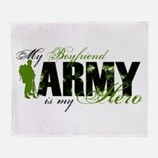Boyfriend Hero3 - ARMY Throw Blanket