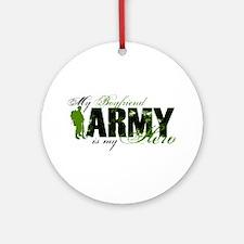 Boyfriend Hero3 - ARMY Ornament (Round)