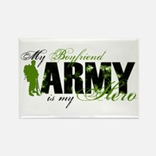 Boyfriend Hero3 - ARMY Rectangle Magnet