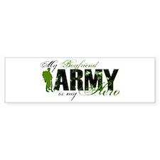 Boyfriend Hero3 - ARMY Bumper Sticker