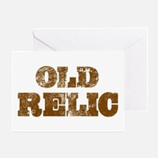 'Old Relic' Greeting Card