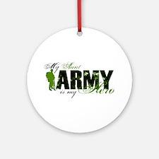 Aunt Hero3 - ARMY Ornament (Round)