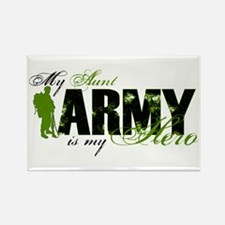 Aunt Hero3 - ARMY Rectangle Magnet