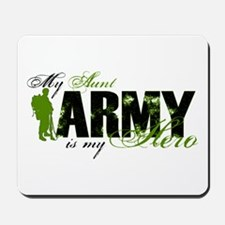 Aunt Hero3 - ARMY Mousepad