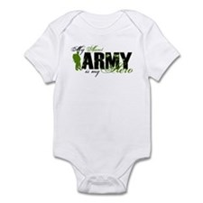 Aunt Hero3 - ARMY Infant Bodysuit