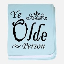 'Ye Olde Person' baby blanket