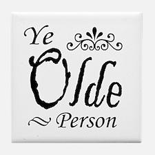 'Ye Olde Person' Tile Coaster