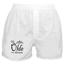 'Ye Olde Person' Boxer Shorts