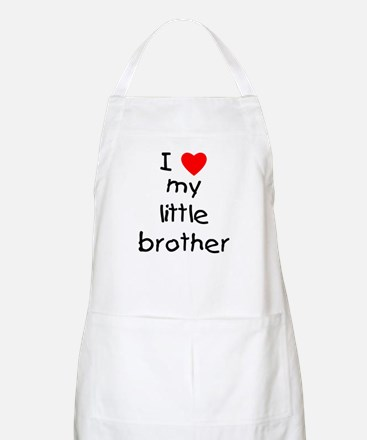 I love my little brother Apron
