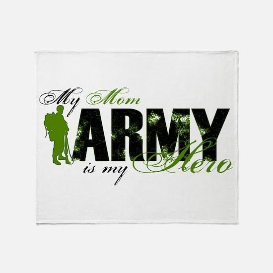 Mom Hero3 - ARMY Throw Blanket