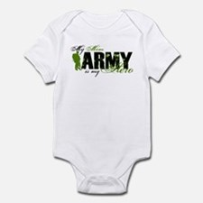 Mom Hero3 - ARMY Infant Bodysuit