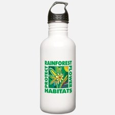 Protect the Rainforest Water Bottle