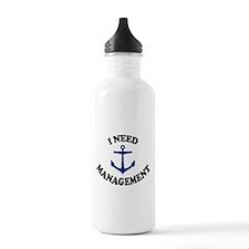 'Anchor Management' Water Bottle
