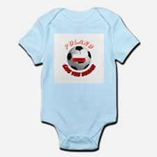 Poland world cup Infant Creeper