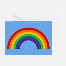 Retro Rainbow Greeting Cards (Pk of 10)