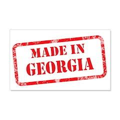 MADE IN GEORGIA 22x14 Wall Peel