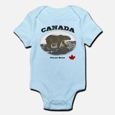 Canada - the Polar Bear Infant Bodysuit