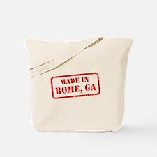 MADE IN ROME, GA Tote Bag