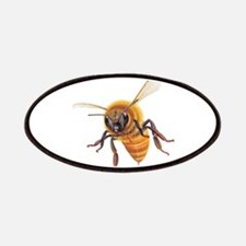 Bee in flight Patches
