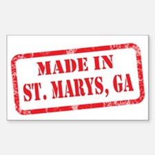 MADE IN ST. MARYS Decal