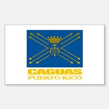 Caguas Flag Decal