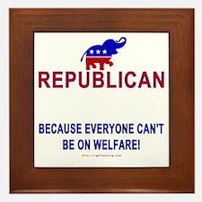 Republican Framed Tile