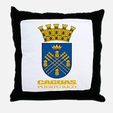 Caguas COA Throw Pillow