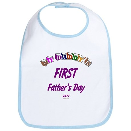 First Father's Day Bib