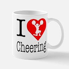 I Love Cheering Small Small Mug