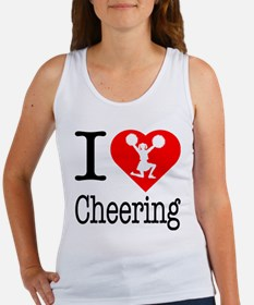 I Love Cheering Women's Tank Top