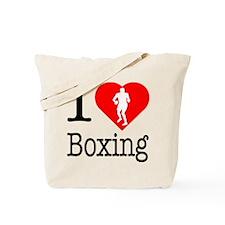 I Love Boxing Tote Bag