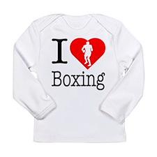 I Love Boxing Long Sleeve Infant T-Shirt