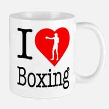 I Love Boxing Mug