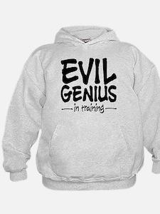 Evil Genius In Training Hoodie