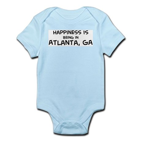 Happiness is Atlanta Infant Creeper