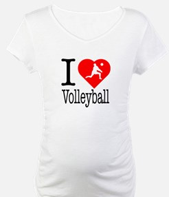 I Love Volleyball Shirt