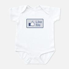 Like Me Facebook Icon Infant Bodysuit
