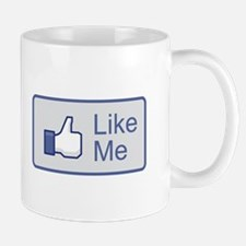Like Me Facebook Icon Mug