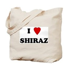 I Love Shiraz Tote Bag