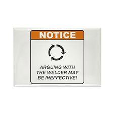 Welder / Argue Rectangle Magnet