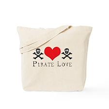 """Pirate Love"" Tote Bag"
