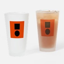 Universal Distress Flag Drinking Glass